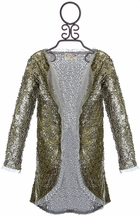 Joyfolie Sequin Cardigan Micah