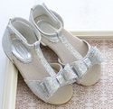 Joyfolie Silver Naomi Girls Fancy Shoe