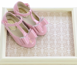 Joyfolie Vivian Bow Flats in Pink