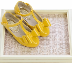 Joyfolie Vivian Yellow Shoes for Girls