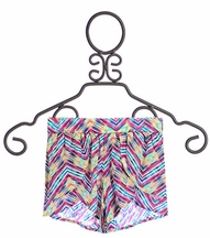 Kalliope Kids Chevron Shorts
