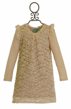 Kalliope Kids Ivory Lace Dress (4T & 5/6)