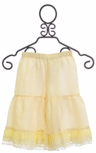 Kalliope Kids Linen Pants for Girls  in Ivory