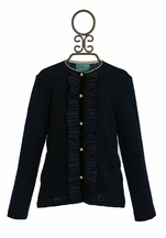 Kalliope Kids Navy Tween Jacket (Size 7/8)