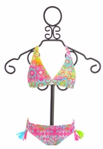 Kate Mack 2 Pc Girls Bathing Suit Spring 2016 (4,6X,14)