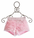 Kate Mack Blooming Roses Tulle Ruffled Shorts for Girls