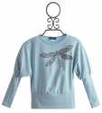 Kate Mack Born Wild Dragonfly Batwing Top