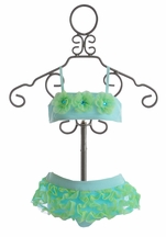 Kate Mack Cirque De Soleil Aqua Bikini for Infant and Toddler (Size 12 Mos)