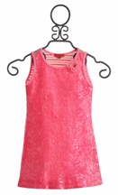 Kate Mack Cirque De Soleil Pink Sequin Girls Dress (Size 14)