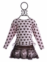 Kate Mack Designer Skirt and Top for Girls Hearts