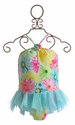 Kate Mack Dipped in Daisies Girls Tank Swimsuit