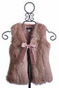 Kate Mack Dusty Rose Girls Vest On Safari