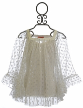 Kate Mack Girls Bathing Suit Coverup in Silver