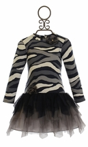 Kate Mack Girls Boutique Dress Wild Streak