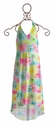 Kate Mack Girls Maxi Dress Dipped in Daisies Blue