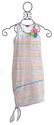 Kate Mack Girls Maxi Dress in Garden Stripe (Size 10)