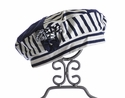 Kate Mack Girls Navy Stripe Hat