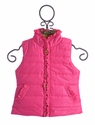 Kate Mack Girls Puffer Vest in Pink