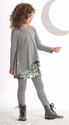 Kate Mack Girls Sequin Skirt with Tunic