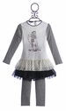 Kate Mack Girls Tunic and Legging Puppy Love