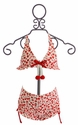 Kate Mack Girls Two Piece Swimsuit with Cherry Print