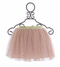 Kate Mack Heart of Gold Skirt in Dusty Pink