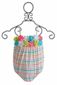 Kate Mack Infant Girls Swimsuit Garden Stripe