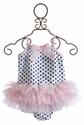 Kate Mack Jenny Annie Dots Girls Ballerina Swimsuit
