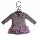 Kate Mack Lace Confections Lilac Infant Dress