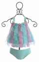 Kate Mack Lovebirds Baby Girls Swimsuit (3 Mos & 9 Mos)