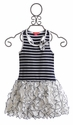 Kate Mack Monte Carlo Navy Blue Girls Dress