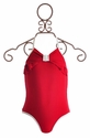 Kate Mack One Piece Swimsuit Red Regatta