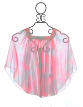 Kate Mack Paradise Palms Chiffon Swim Coverup (5,8,14)