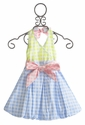 Kate Mack Picnic in Provence Girls Halter Dress