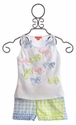 Kate Mack Picnic in Provence Short Set