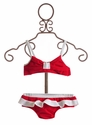 Kate Mack Red Infant Regatta Girls Bikini