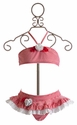 Kate Mack Red Regatta Girls Skirted Bikini