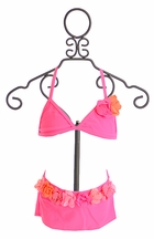 Kate Mack Skirted Swim Bikini Pink Paradise