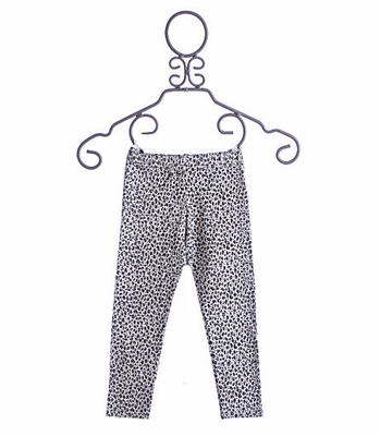 Kate Mack Snow Leopard Print Leggings
