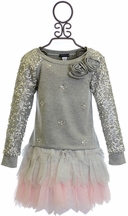 Kate Mack Sporty Sparkle Tutu Skirt Set