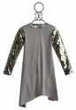 Kate Mack Strike A Pose Girls Sequin Party Dress