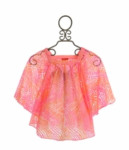 Kate Mack Sunset Beach Mesh Swim Coverup