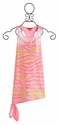 Kate Mack Tahitian Sunset Dress with Sequin (10, 12, 14)