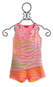 Kate Mack Tahitian Sunset Girls Short Set