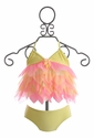 Kate Mack Tahitian Sunset Infant and Toddler Swimsuit (9 Mos, 12 Mos, 4T)