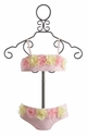 Kate Mack Toddler and Infant Bikini Heavenly Roses (9Mos & 24Mos)