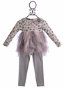 Kate Mack Tulle Tunic and Legging for Little Girls