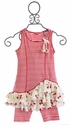 Kate Mack Tunic with Leggings for Girls Cha Cha Cherry