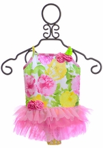 Kate Mack Tutu Bathing Suit with Roses