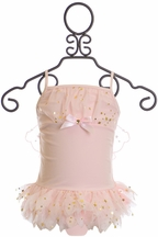 Kate Mack Tutu Swimsuit in Light Pink